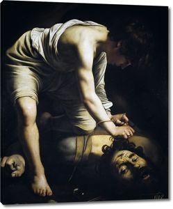 Микеланджело Меризи  да Караваджо. Давид с головой Голиафа