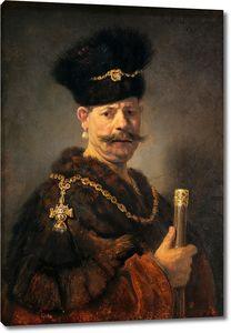 Рембрандт. Польский дворянин
