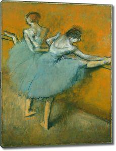 Эдгар Дега. Танцовщицы в Барре