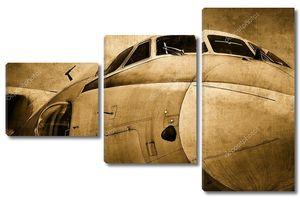 Фон военного самолета