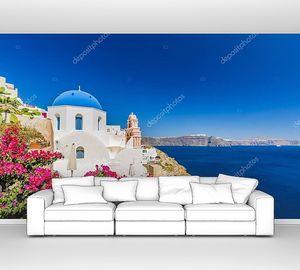 Удивительный вид с белыми домами