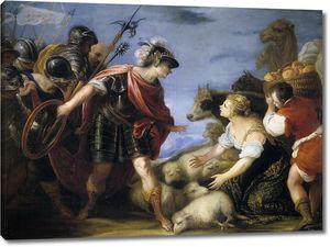 Эскаланте Хуан Антонио де Фриас. Благоразумие Авигеи