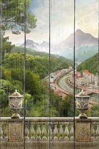 Горный пейзаж. Альпы