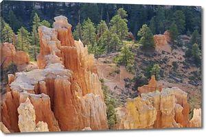 иглы в Брайс Каньон Национальный парк, штат Юта, США