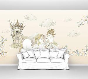 Принцесса с единорожком
