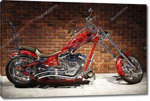 Мотоцикл в профиль