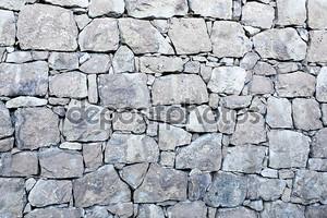 Каменная стенная