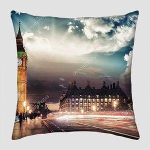 Красивые цвета Биг Бен от Вестминстерского моста