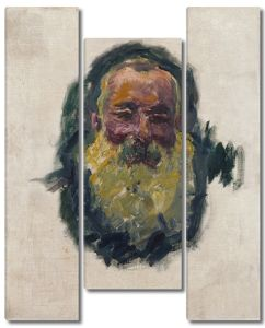 Моне Клод. Автопортрет, 1917