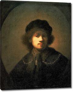 Рембрандт. Автопортрет (1630-1631)