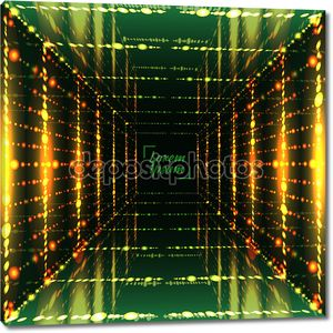 Abstract bright grid background