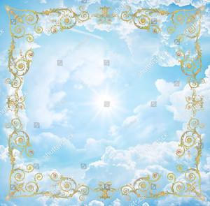 Небо с виньетками