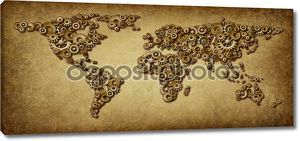 Старая карта международной экономики