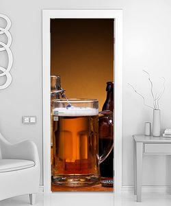 Различыне бокалы с пивом