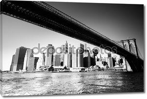 Бруклинский мост - Нью-Йорк Сити