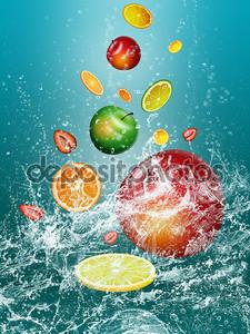 Свежайшие фрукты