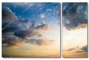 Облачно и солнечно