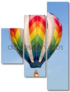 metamora, штат Мичиган - 24 августа 2013: красочные воздушные шары запуск на ежегодные дни страны metamora и горячим воздухом воздушный шар фестиваль.