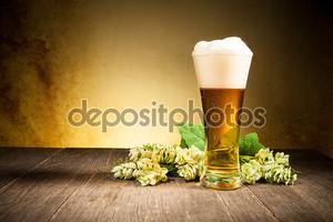 Очки пива