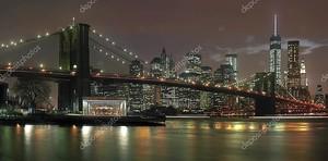 Нью-Йорк ночью
