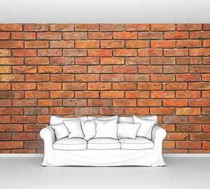 Кирпичная стена, имитация