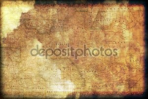 Винтаж Колорадо карта