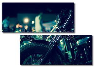 Мотоцикл крупным планом