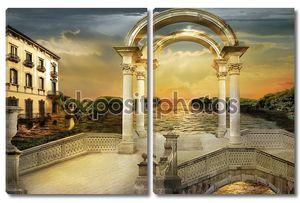 Восход c арками