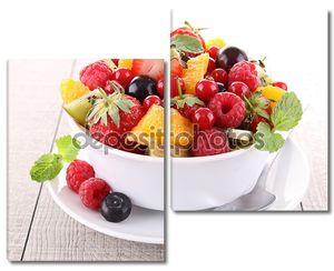 Салат из свежих фруктов