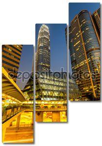Бизнес центр Гонконга.