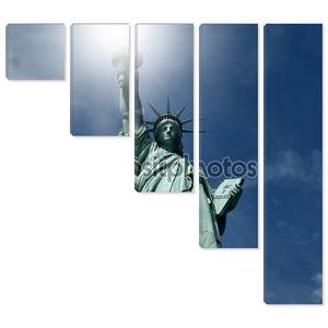 Статуя свободы New York City