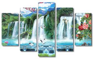 Водопады на сопках