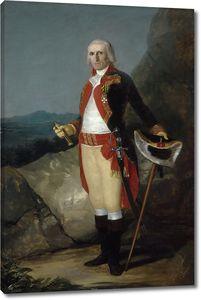 Гойя и Лусиентес Франсиско де. Генерал Дон Хосе де Уррутия