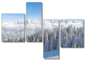 Зима в Альпах