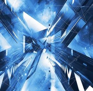 Виртуальный абстрактный фон