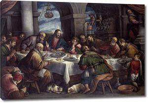 Бассано Франческо. Тайная вечеря