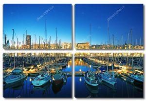 Марина Порт Велл в Барселоне - Испания