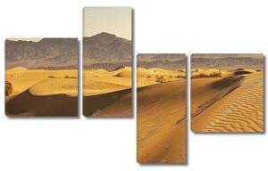 Песчаные дюны пустыни