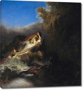 Рембрандт. Похищение Прозерпины