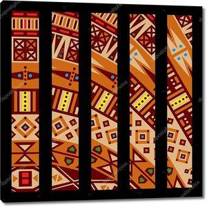 Орнамент в традиции африканских мотивов