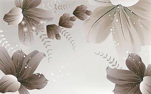 Цветы создающие фон