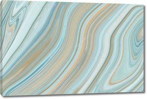 Синий мраморный узор