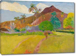 Поль Гоген. Таитянский пейзаж