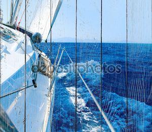 Яхта Парусный спорт