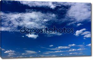Голубое небо, абстрактный фон