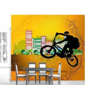 Велогонщик BMX