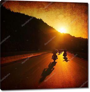 поездка на мотоцикле