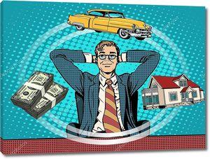 Мечта дом деньги автомобиль