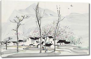 Городок в горах