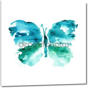 Акварель бабочка